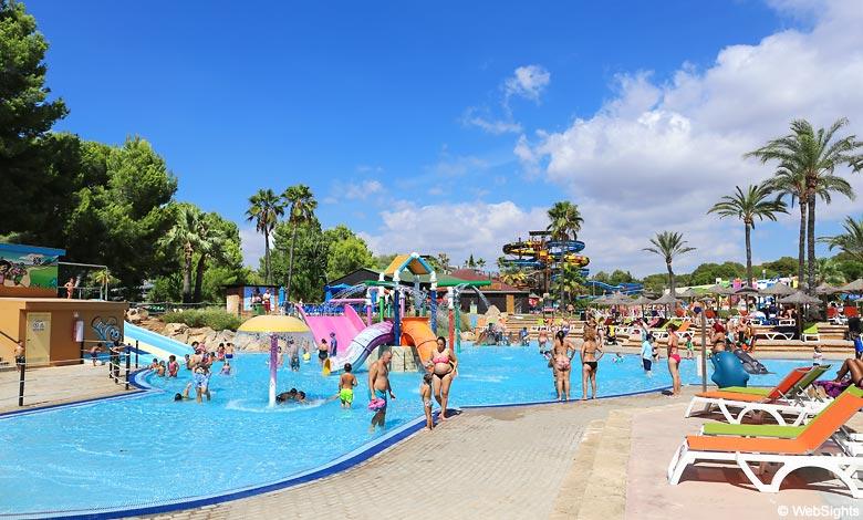 Aqualand El Arenal children