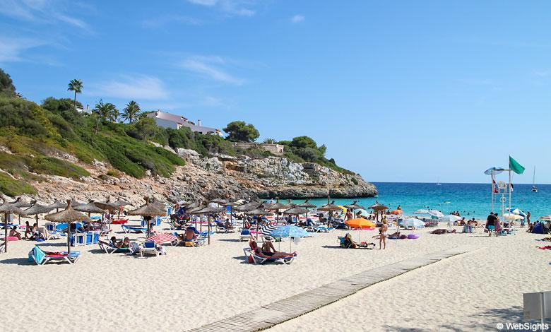 Mallorca Karte Playa De Muro.Cala Anguila Beach Mallorca Beaches