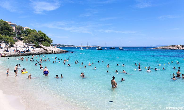 Cala Comptessa beach