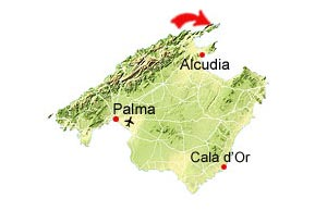 Cala Figuera map