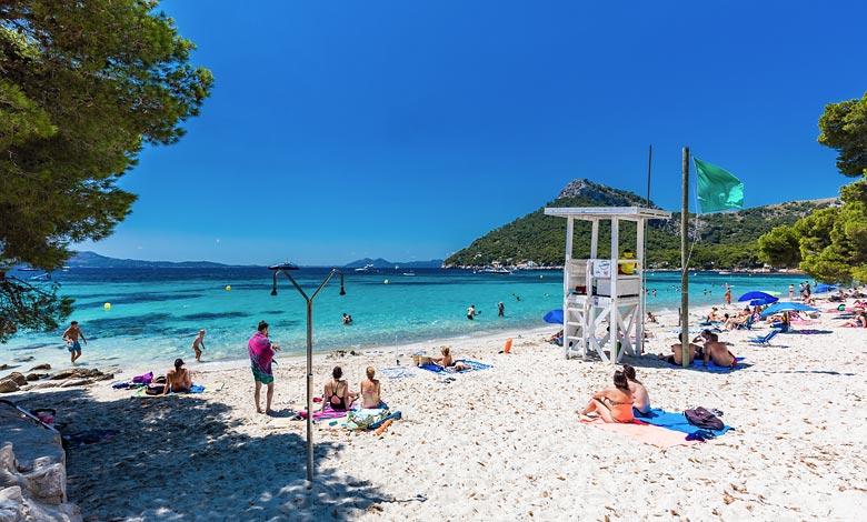Cala Formentor strand