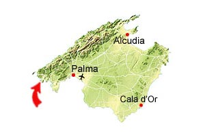 Cala Llamp map