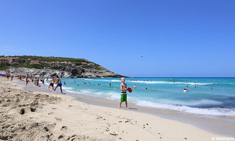 Cala Mesquida beach