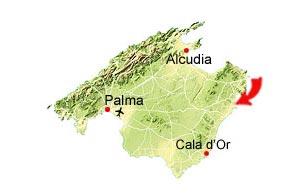 Cala Millor map