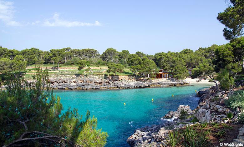 Cala Mitjana sør Mallorca
