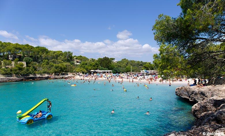 Cala Mondrago strand