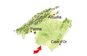 Cala Pi map