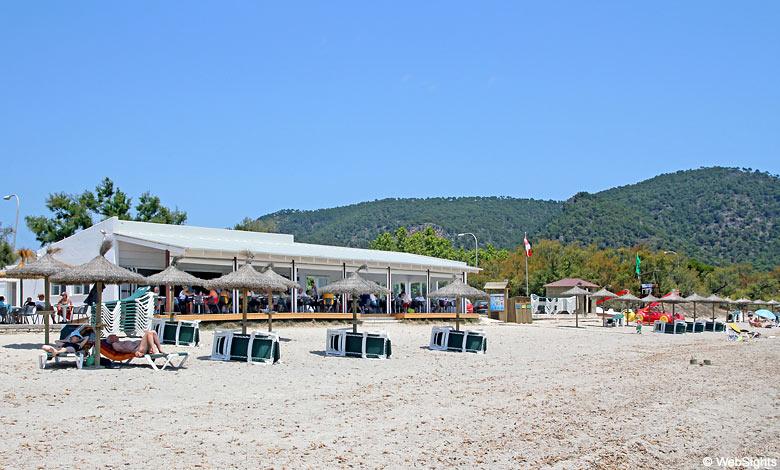Cala Sa Marjal beach bar