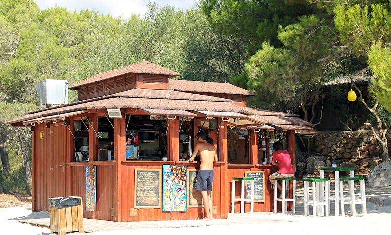 Cala Sa Nau strandbar