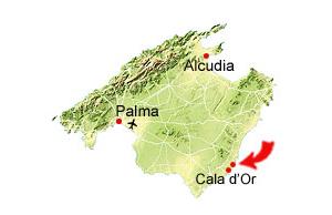 Cala Sa Nau map