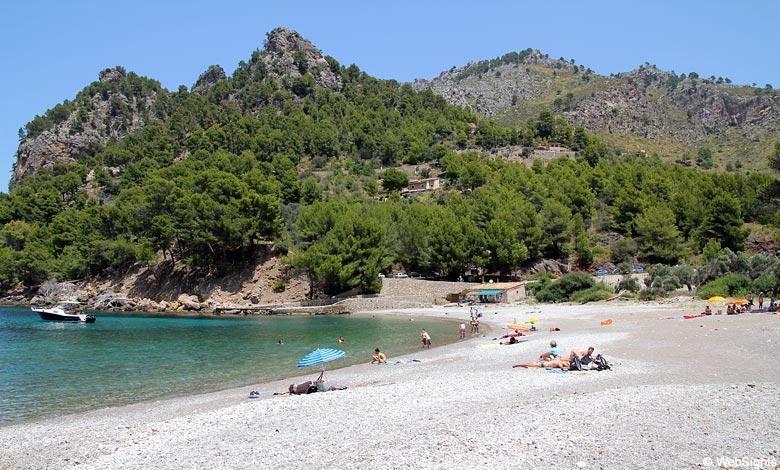 Cala Tuent beach