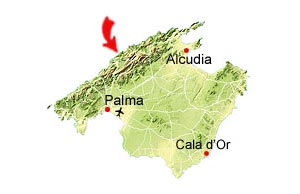Cala Tuent map