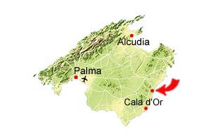 Cala Varques map