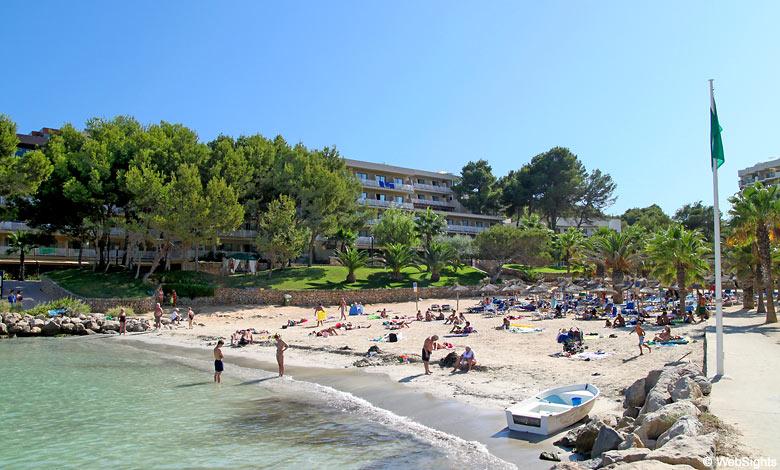 Cala Vinyes strand