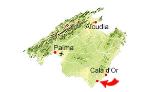 Calo des Moro map