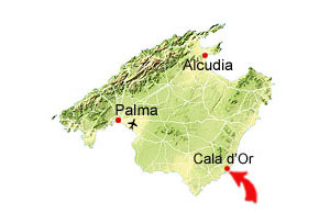Calo des Pou map