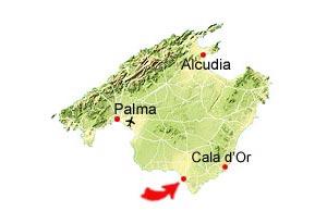 Colonia Sant Jordi map