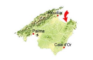 Colonia de sant Pere Karte