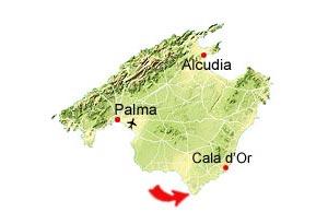 Es Caragol map
