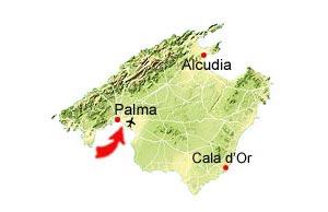 Es Molinar map