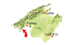 Palma Nova karta