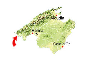 Port d'Andratx map