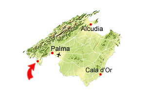 Santa Ponsa map