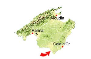 Platja s'Estany map