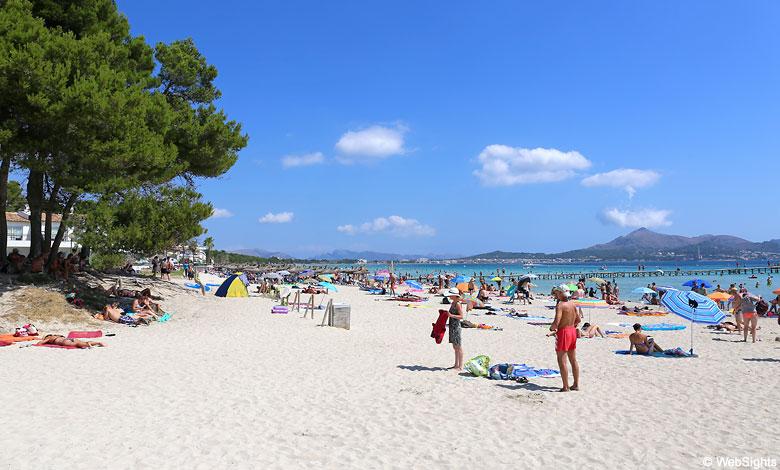 Playa de Muro Strand