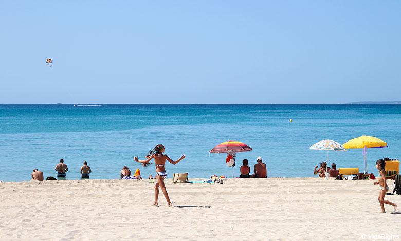 Playa de Palma strand