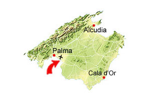 Playa de Palma karta