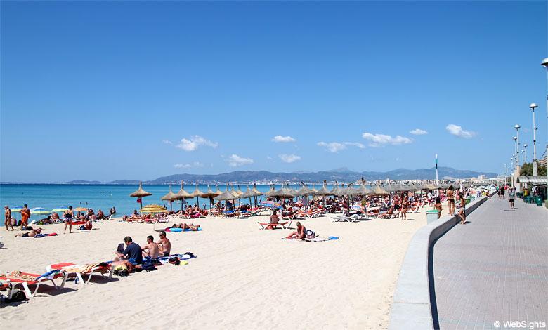Playa de Palma promenade