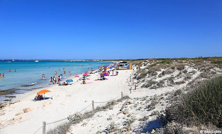 Es Trenc Famous Beach In Mallorca Mallorca Beaches