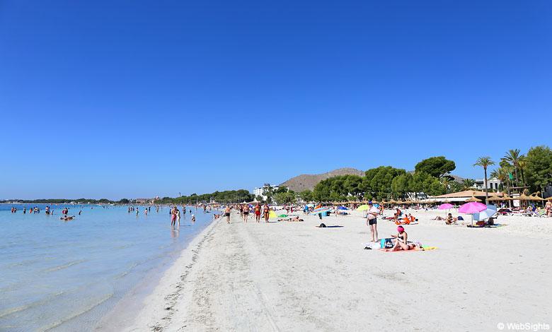 Port d'Alcudia beach