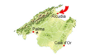 Port d'Alcudia map