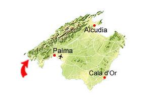 Port d'Andratx Karte