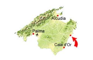 Porto Cristo Karte