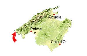 Sant Elm map