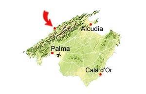 Port de Soller map
